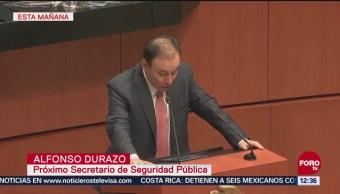 Alfonso Durazo solicita licencia indefinida a su cargo como senador