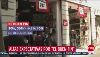 """Altas expectativas por """"El Buen Fin"""""""