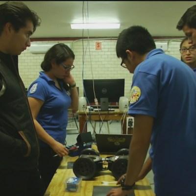Alumnos del IPN crean robot para rescatar personas
