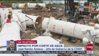 Amieva: Capacidad técnica para abastecer agua no ha sido rebasada