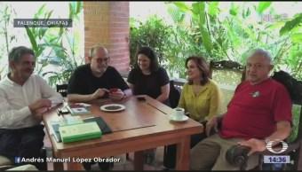 AMLO comparte otro video desde Palenque