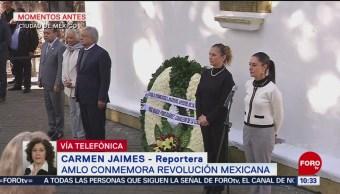 AMLO conmemora la Revolución Mexicana