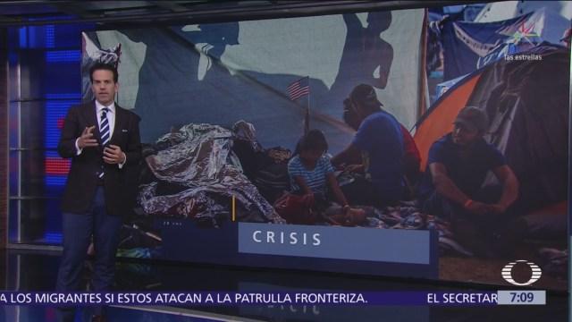 Amnistía Internacional denuncia condiciones insalubres de migrantes en Tijuana