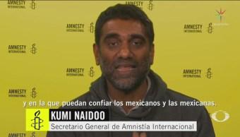 Amnistía Internacional Envía Mensaje A AMLO