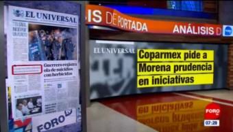 Análisis de las portadas nacionales e internacionales del 13 de noviembre del 2018
