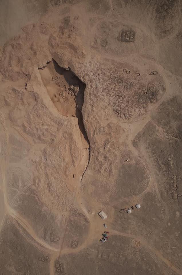 Antigua cantera de alabastro de Hatnub, situada al este de Amarna y en la gobernación de Menia (Ministry of Antiquities, Egypt)