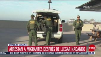 Arrestan Migrantes Estados Unidos Caravana Centroamericanos