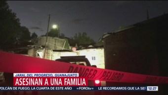 Asesinan a una familia en Jaral del Progreso, Guanajuato