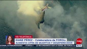 Aumentan Los Muertos Y Desaparecidos Por Incendios En California California Incendios Forestales Más De Mil 200 Personas Están Desaparecidas Al Menos 250 Mil Damnificados