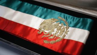 Senado autoriza cambios a la banda presidencial