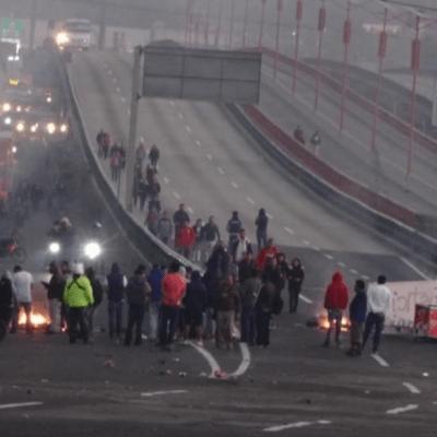 Policía Federal inicia operativo para liberar la México-Pachuca