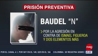 Prisión preventiva contra agresor de líder sindical de Bomberos