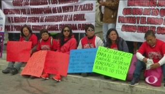 Bomberos Cdmx Manifiestan Contra Ismael Figueroa