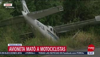 Cae avioneta en Tamaulipas