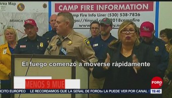 California Enfrenta Emergencia Incendios Forestales