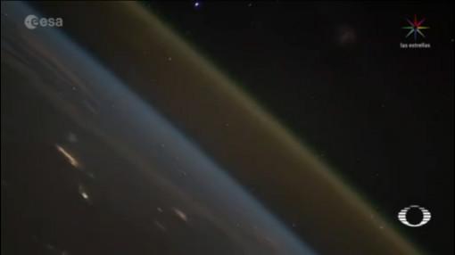 Captan Video Lanzamiento Cohete Desde Espacio