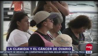 Características de la clamidia y el cáncer de ovario