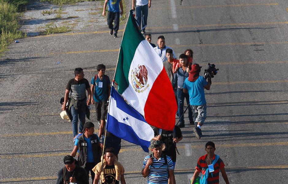 Resultado de imagen para caravana migrante llega a veracruz