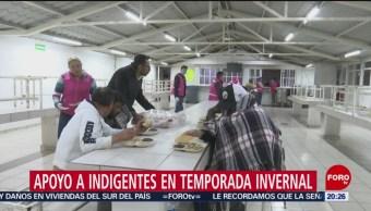 CDMX Instala Albergues Para Apoyar Indigentes