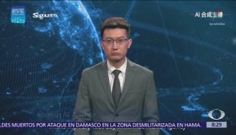 China presenta primer conductor de noticias virtual