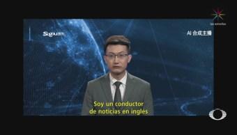 China Sorprende Primer Presentador Noticias Virtual Robot