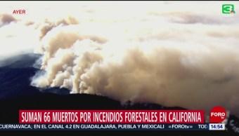Cientos De Desaparecidos Incendios California Soldados Y Bomberos Más De 60 Muertos Cientos De Viviendas Destruidas
