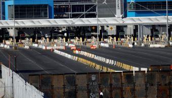 Estados Unidos defiende cierre de garita fronteriza en San Diego