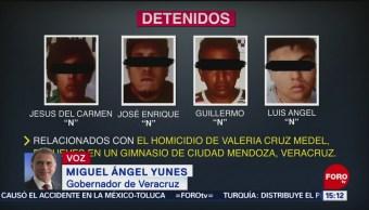 Cinco detenidos por caso Valeria