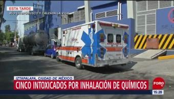 Cinco Intoxicados Por Inhalación De Químicos En Iztapalapa Cinco Personas Resultaron Intoxicadas Inhalación De Químico