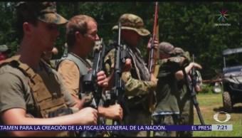 Civiles armados patrullan el río Bravo para 'cazar' a migrantes