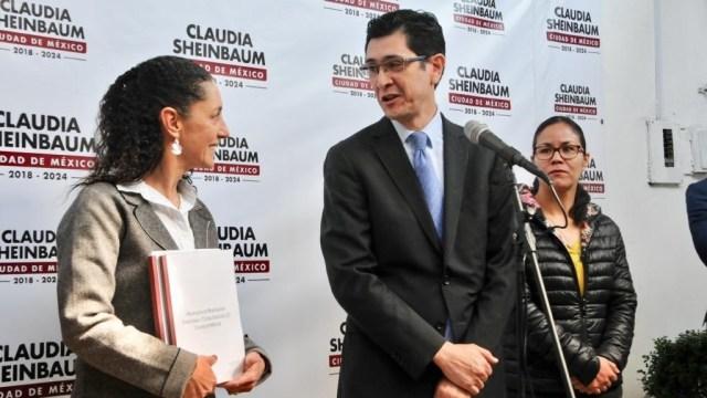 Claudia Sheinbaum presenta al próximo titular del C5
