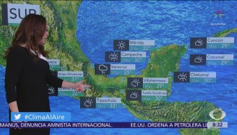 Clima Al Aire: Tormentas fuertes por efectos del frente frío 11