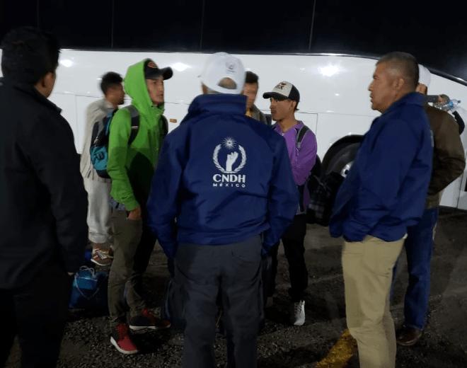 CNDH confirma liberación de migrantes detenidos en Sonora