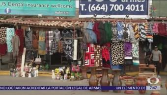 Comerciantes de Tijuana denuncian pérdidas económicas por migrantes