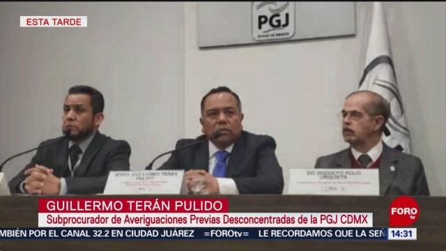 Comisionado del INAI se lanzó de manera voluntaria: PGJCDMX