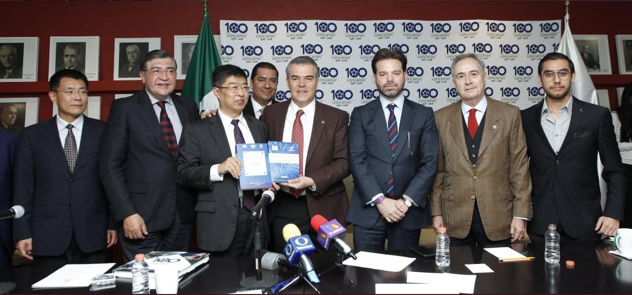 Concamin muestra confianza a administración de AMLO