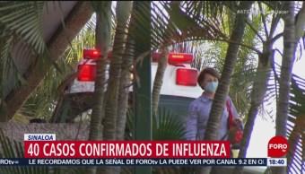 Confirman 40 casos de influenza en Sinaloa