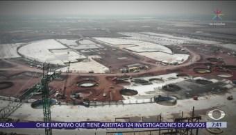 Construcción del NAIM en Texcoco sigue, a pesar de que será cancelado