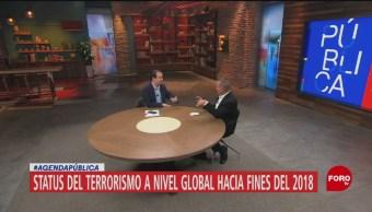 Cuál es el status del terrorismo a nivel global hacia finales de 2018