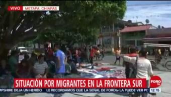 Cuarta Caravana Migrante Dormirá Tuxtla Gutiérrez, Chiapas Metapa De Domínguez