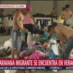 Cuarta caravana migrante se encuentra en Veracruz