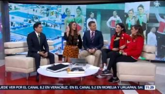Dafne Navarro y Melissa Flores ganan bronce en el Mundial de Gimnasia