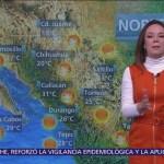 Despierta con Tiempo: Bajo potencial de lluvias por circulación anticiclónica