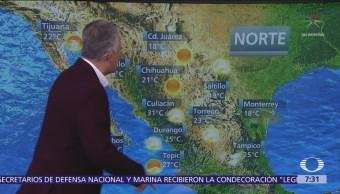 Despierta con Tiempo: Frente frío 11 hará descender las temperaturas