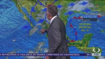 Despierta con Tiempo: Onda gélida en México por frente frío 10