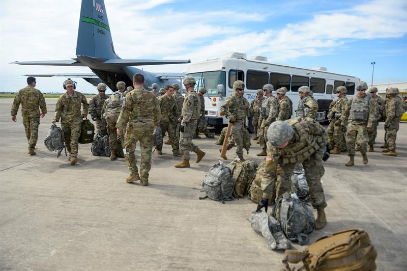 difunden imagenes del despliegue militar en frontera mexico eu
