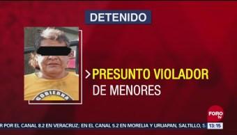 Detienen a presunto violador en Coyoacán
