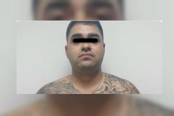 Detienen al líder de 'Los Aztecas', René Gerardo 'N', alías '300'