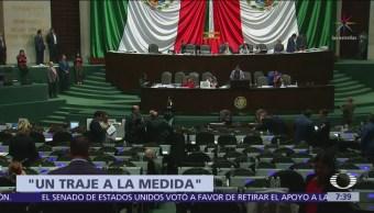 Diputados aprueban minuta para que Rosalinda López diriga el SAT
