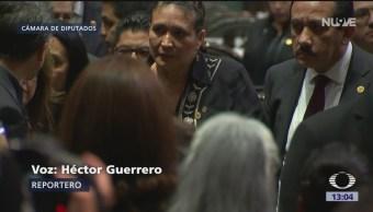Diputados guardan silencio por muerte de hija de Carmen Medel